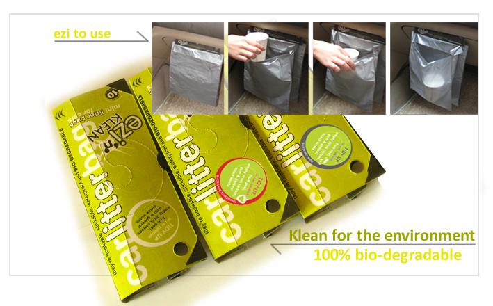 The Convenient Disposable Car Litter Bags