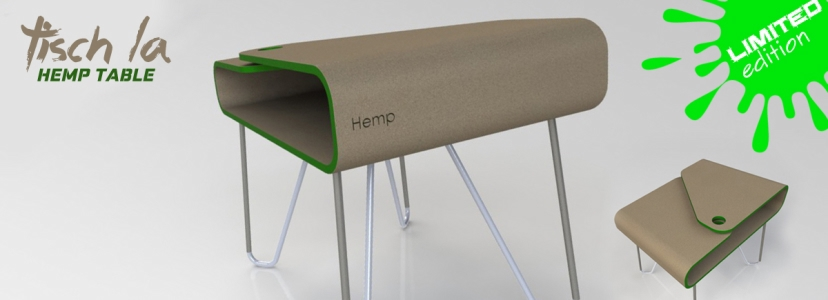 Unique hemp table design